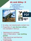 Non Ferrous Alloys-UNDERGRAD