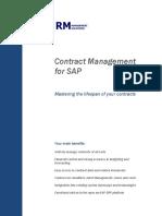 Contract Management SAP