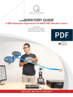 3 DOF Helicopter Courseware Sample for MATLAB Users