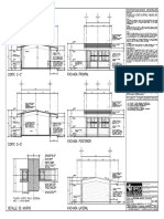 A-02 Cortes y Fachadas Estructura U-1c