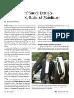 House of Saud, British Killer of Muslims