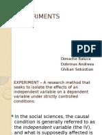 EXPERIMENTS.pptx