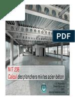 Calcul Des Planchers Mixtes Acier-Béton