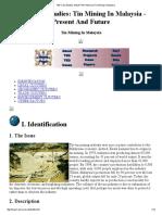 TED Case Studies_ MALAYTIN_ Historical Tin Mining in Malaysia