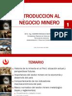Introduccion Al Negocio Minero