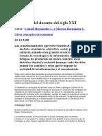 Nuevo Rol Del Docente Del Siglo XXI (1)