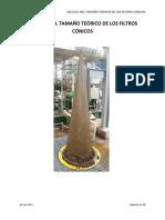 Proceso de Cálculo Del Tamaño Teorico de Los Filtros Conicos (Web)