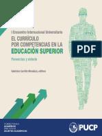 Encuentro Curriculo Competencias 2014