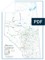 Alberta map of 2016-2019 projects