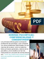 NORMAS PSICOÉTICA FUNDAMENTALES