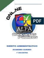Alfacon Tecnico Do Inss Fcc Direito Administrativo Evandro Guedes 1o Enc 20131007162424