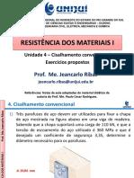 Exercicios Resistencia materiais