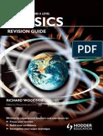 Cambridge International as & a Level Physics Revision Guide - Richard Woodside, Chris Mee (Hodder)