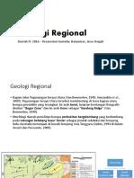 Geologi Regional Kec Gumelar, Banyumas