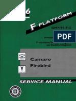 1996 Chevrolet Camaro & Pontiac Firebird Service Manual Volume 2