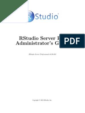 Rstudio Server Pro 0 99 893 Admin Guide | Transport Layer