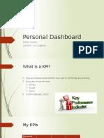 personal dashboard