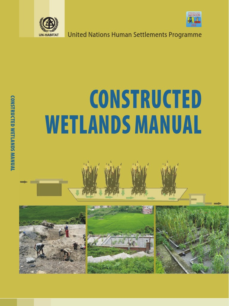 Constructed Wetlands Manual | Sewage Treatment | Sanitation