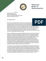 House DFL Representatives ask Speaker Daudt to set budget target to address racial economic disparities