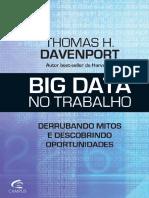 Banco de dados BIG DATA No Trabalho