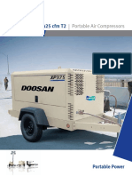COMPRESOR DE AIRE DOOSAN XP375 425cfm T2