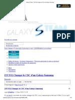 Galaxy's Team - [TUTO] Changer Le CSC d'Un Galaxy Samsung
