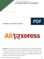 Cina-Aliexpress_ Come Acquistare Sul Sito Cinese