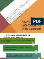 Las Finanzas de Las Cuentas Por Cobrar (2)