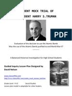 Truman Trial Lesson