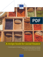 A Recipe Book for Social Finance Comments