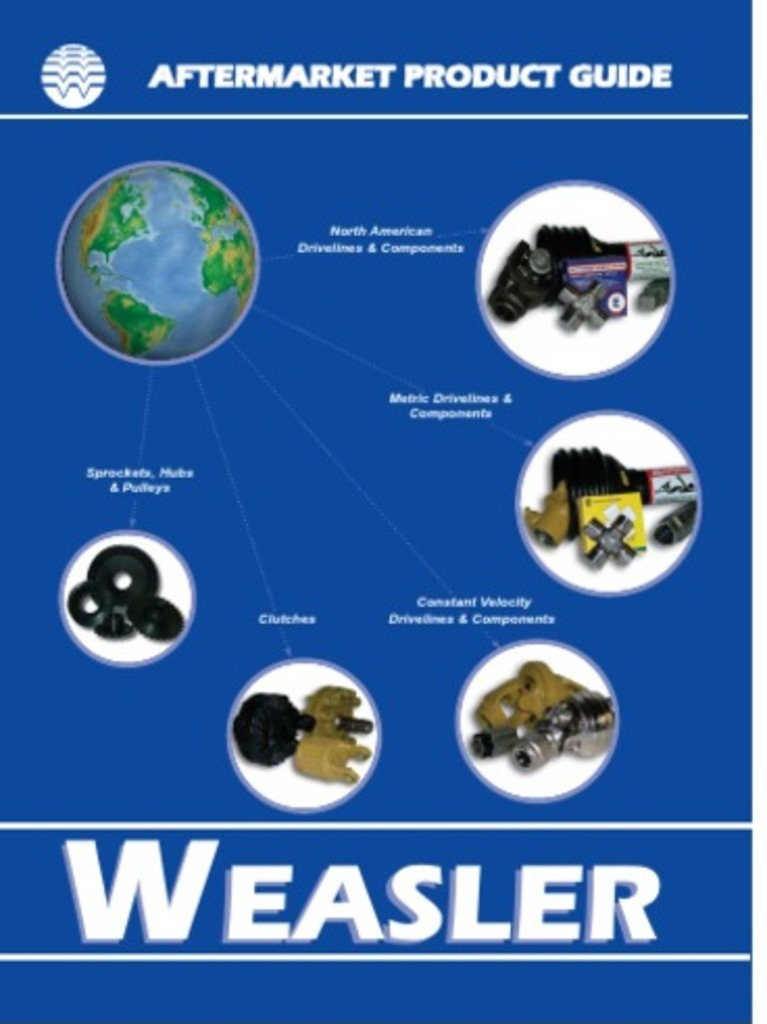 Weasler North American Aftermarket Product Guide | Bearing