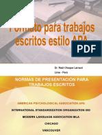 2.Formatos Para Trabajos Escritos Estilo APA