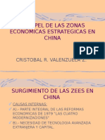 El Papel de Las Zonas Económicas Estratégicas en China