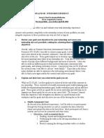 Intern's Final Evaluation