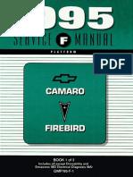 1995 chevrolet camaro & pontiac firebird service manual volume 1