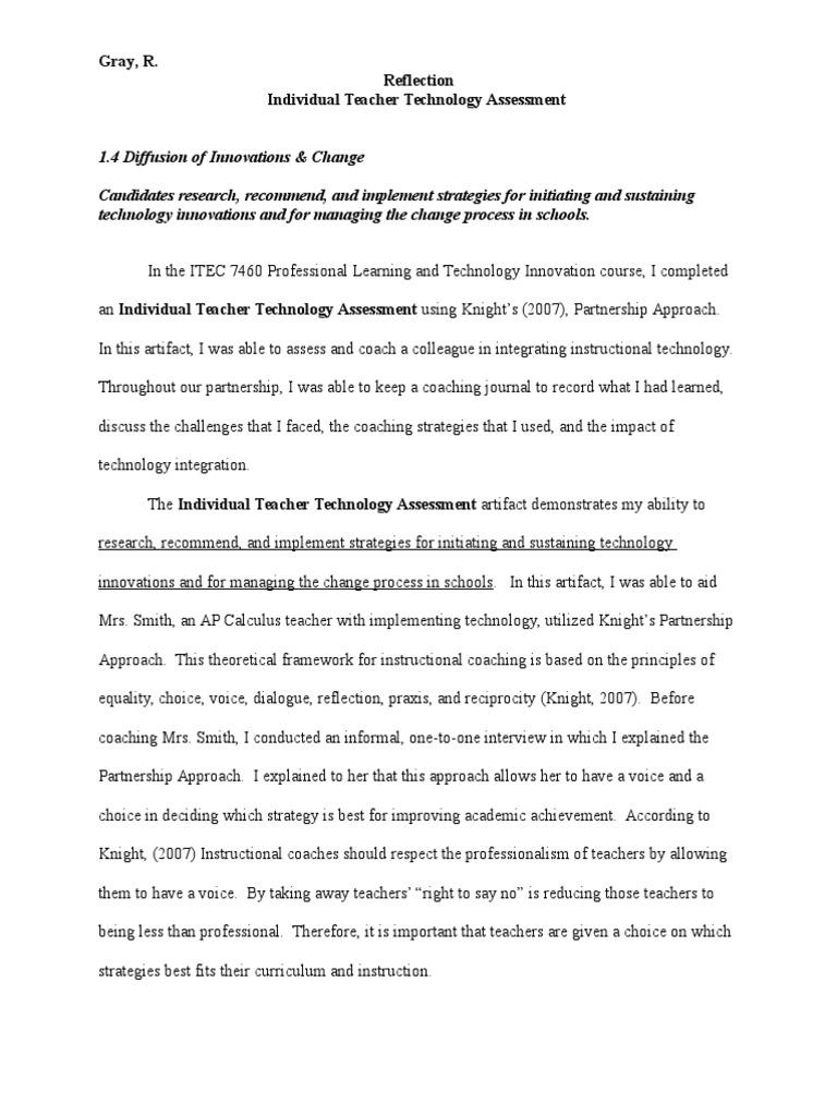 Gray 1 4 Individual Teacher Technology Assessment Ac1 Educational