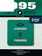 1995 Chevrolet Camaro & Pontiac Firebird Service Manual Volume 2