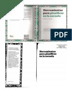 Herramientas Para Planificar en La Escuela. Mónica López. Editorial Aique. (1)