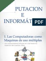 Computación e Informática Introduccion