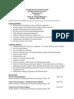 jacqueline melanie benjamin resume - new
