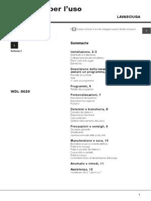 Manuale Ariston Wdl8620 Pdf