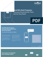 Return Path - Email Winback Programs Report