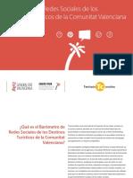 Barometro Redes Sociales y Destinos Turisticos CV 1 2013