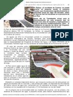 Estudios y Modelos de Grandes Obras Hidráulicas Ejecuta La U