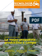 AGROTECNOLOGIA - AÑO 6 - NUMERO 59 - ANO 2016 - PARAGUAY - PORTALGUARANI