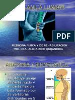 biomecanica lumbar