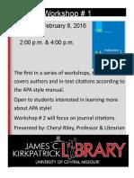APA Workshop Flier (1)