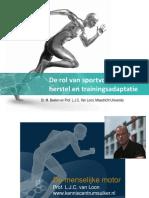 De rol van sportvoeding bij herstel en trainingsadaptatie