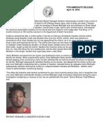 Bryant DeAngelo Sanders sentencing