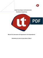 Manual de Labotatorio Organizacion de Computadoras.pdf